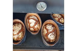 Brot backen im Topf -  in Soufflenheimer Tonformen
