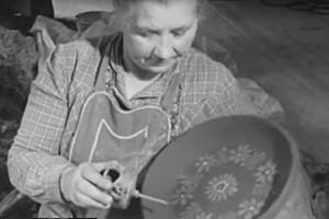 So wird unsere Keramik heute noch bemalt