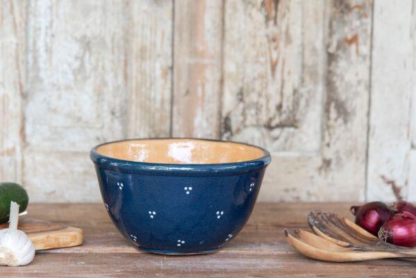 Teigschüssel / Salatschüssel 'Agathe', ø 24cm, blau