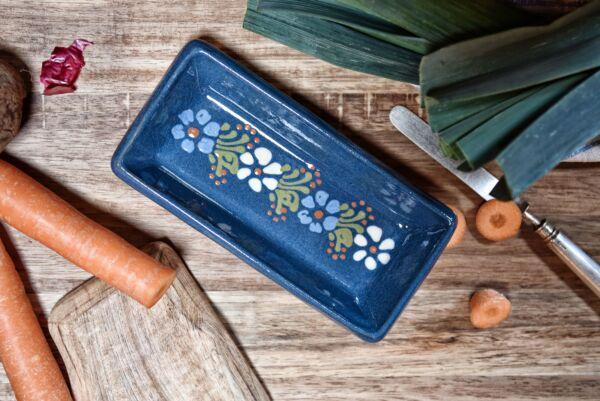 Schale für Kochlöffel BABETTE, dunkelblau