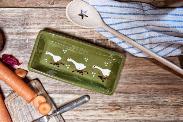 Schale für Kochlöffel LAUFENTE, grün