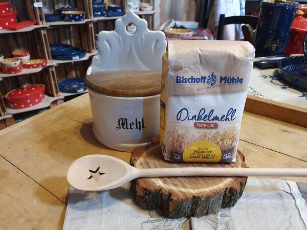Vielseitiges, helles Haushaltsmehl für Brot, Kuchen und Kleingebäcke