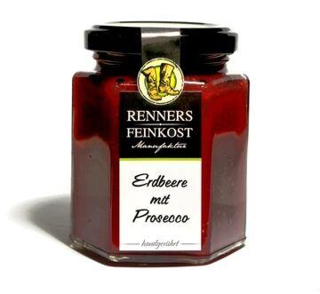 Fruchtaufstrich Erdbeer Prosecco