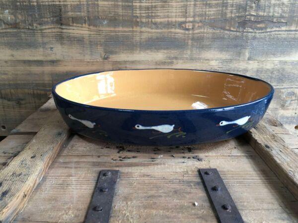 Elsässer Keramikform zur Zubereitung von Gratins und Aufläufen. Unsere Keramikformen werden in Soufflenheim von einem  Familienunternehmen nach traditioneller Art in Handarbeit hergestellt. Der außergewöhnliche Ton dieser Region verträgt hohe Temperaturen