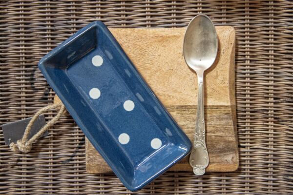 Schale für Kochlöffel LILLY, blau