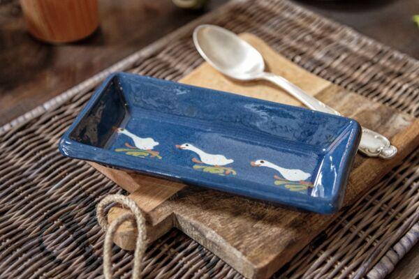 Schale für Kochlöffel LAUFENTE, blau