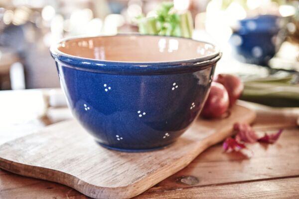 Teigschüssel / Salatschüssel, AGATHE, 28 cm, blau
