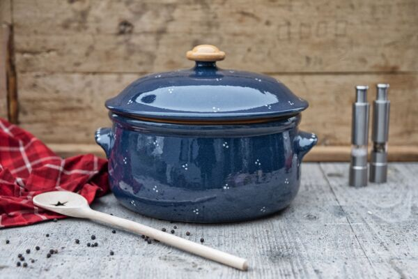 Sauerkrauttopf AGATHE, blau