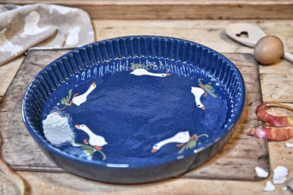 Tarteform LAUFENTE, ø 32 cm, blau