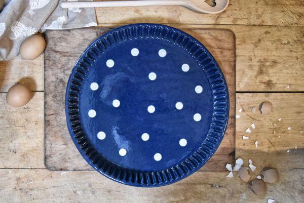 Tarteform LILLY, ø 32 cm, blau