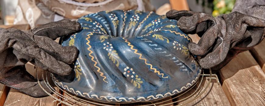 Elkes Kürbis Gugelhupf - im Holzbackofen gebacken