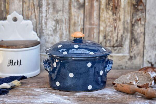 Brotbacktopf/Cocotte LILLY, ø 22 cm, blau