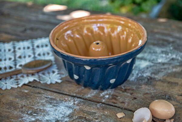 Gugelhupf 'Lilly', ø 22 cm, blau