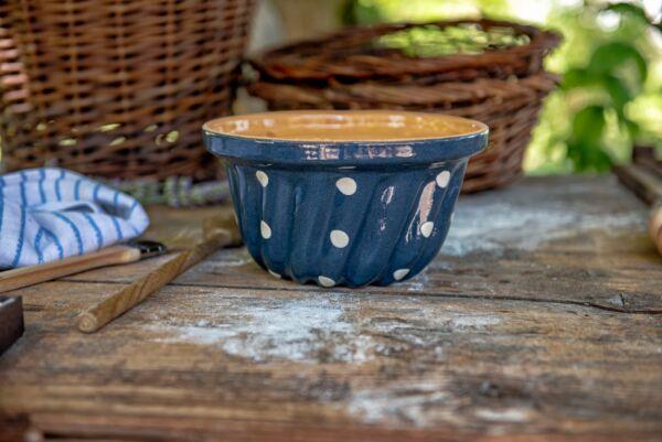 Gugelhupf 'Lilly', ø 20 cm, blau