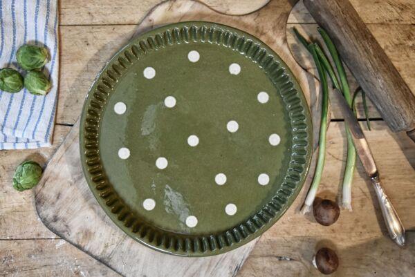 Tarteform LILLY, ø 32 cm, grün