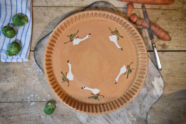 Tarteform LAUFENTE, ø 32 cm, beige